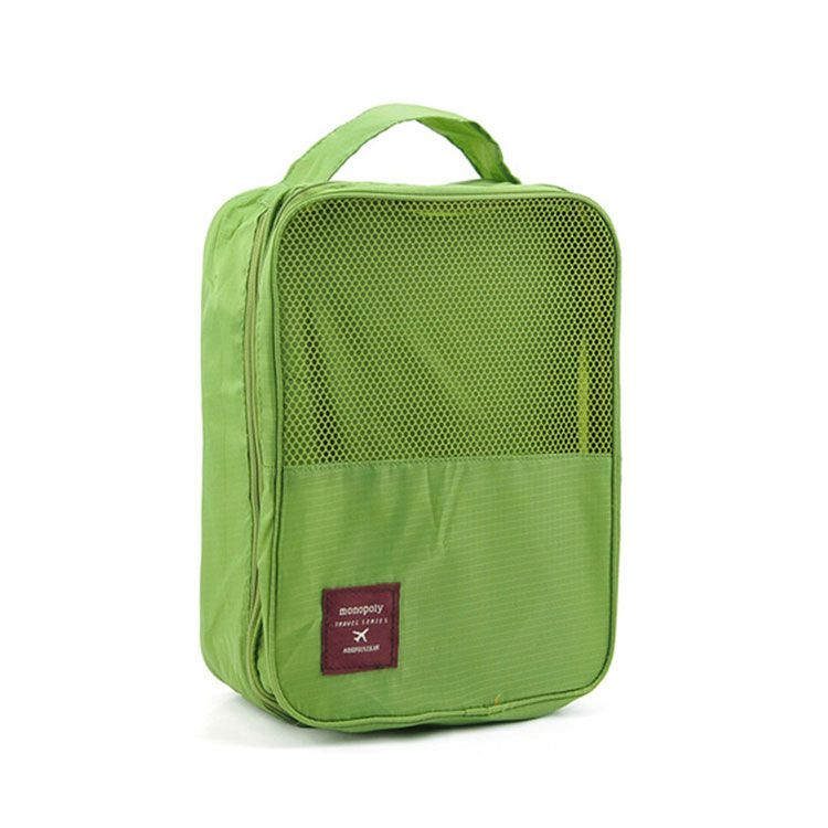 Органайзер для обуви TRAVEL SERIES-SHOES POUNCH, цвет зеленый