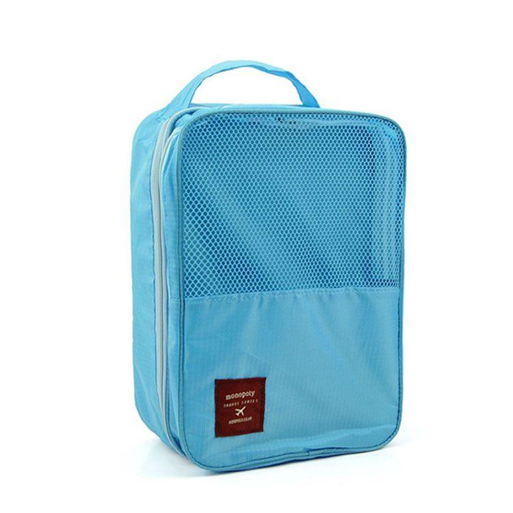 Органайзер для обуви TRAVEL SERIES-SHOES POUNCH, цвет голубой