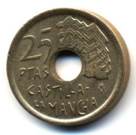 Испания 25 песет 1996