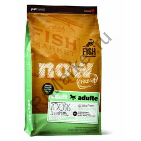 NOW Natural holistic беззерновой для взрослых собак малых пород с форелью, лососем и овощами