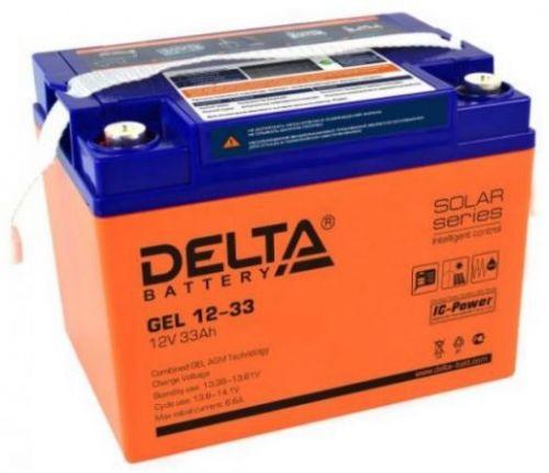 Аккумуляторная батарея GEL 12-33
