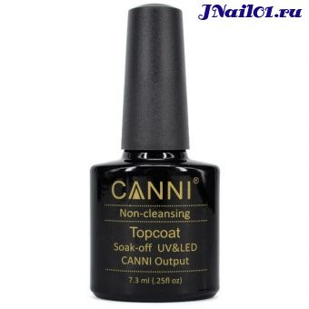 CANNI, Non-cleansing Topcoat Output