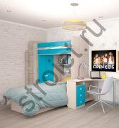 Подростковая комната модульная  Дариуш