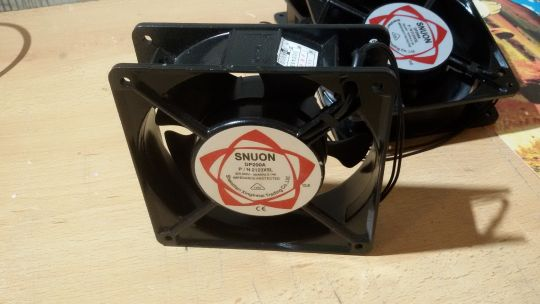 Осевой вентилятор корпусной SNUON DP200A 120 х 120 х 38 мм 220 Вольт