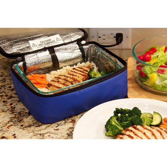 Термосумка Для Подогрева Еды Personal Portable Oven, Цвет Синий