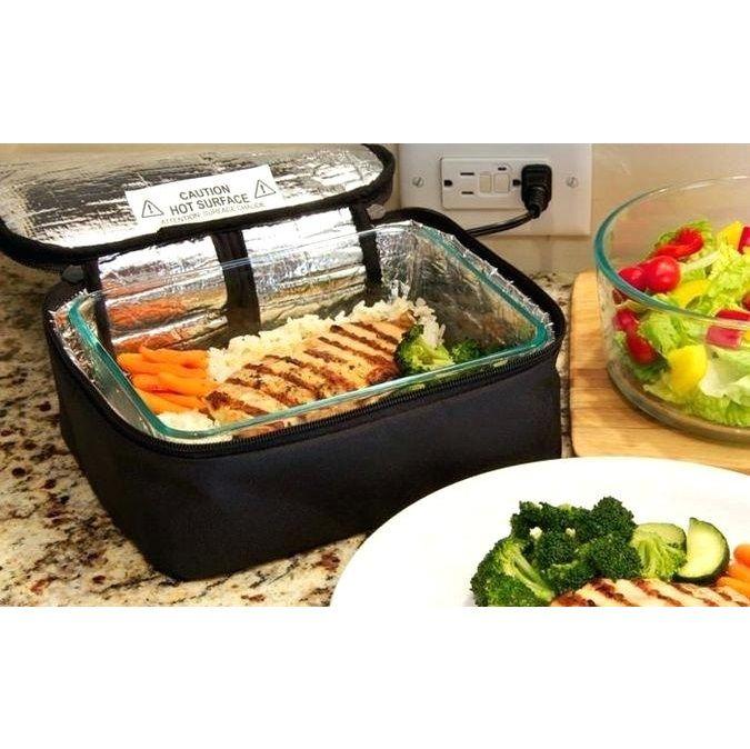 Термосумка для подогрева еды Personal Portable Oven, цвет черный