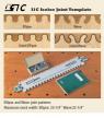 Шаблон Leigh для фигурных шипов Leigh Isoloc ЭЛЛИПСЫ и ВОЛНЫ для шипорезки Leigh D4R Pro М00010343