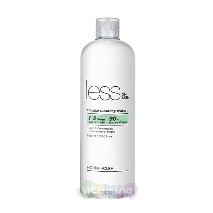 Holika Holika Mицеллярная очищающая вода Less On Skin Micellar Cleansing Water