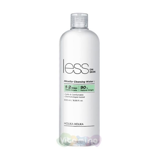 Holika Holika Mицеллярная очищающая вода Less On Skin Micellar Cleansing Water
