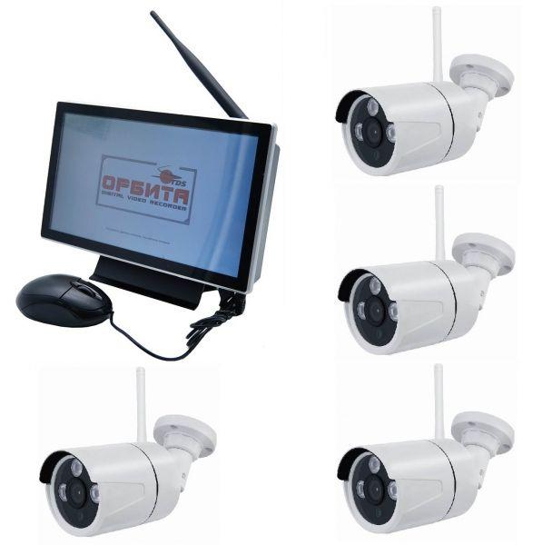 Беспроводной IP комплект c монитором Орбита VP-941