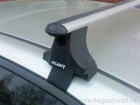 Багажник на крышу Honda Civic 2001-2006, Атлант, аэродинамические дуги