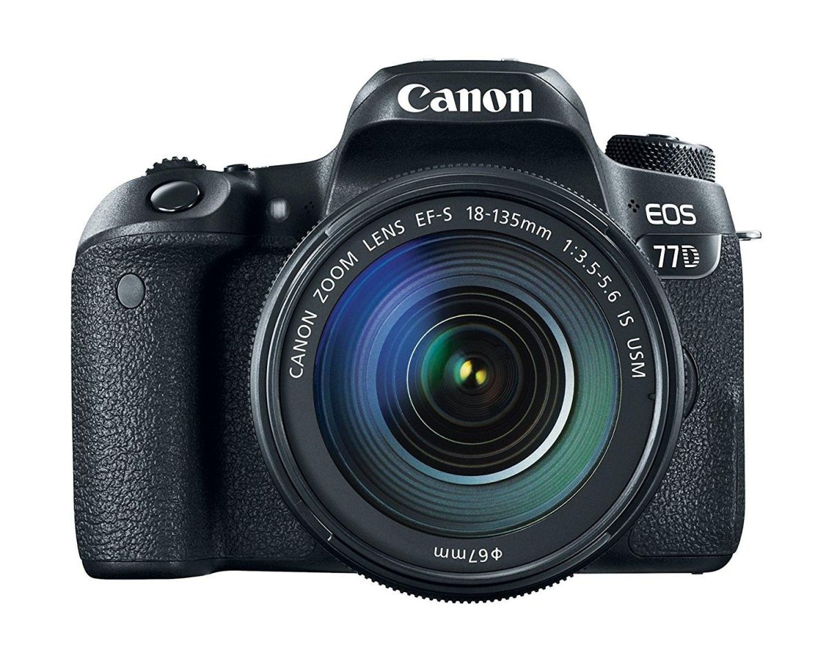 CANON EOS 77 D KIT 18-135 MM IS USM NANO
