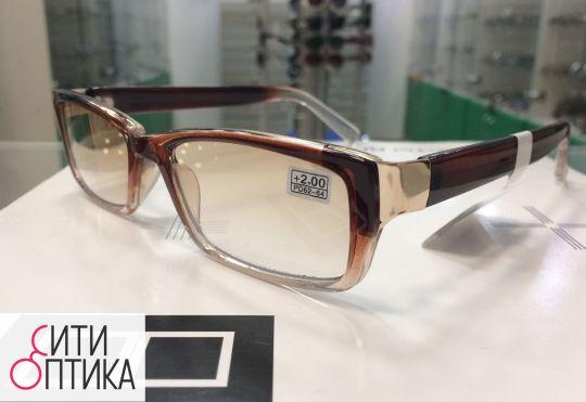 Готовые очки   с тонировкой Boshi 935