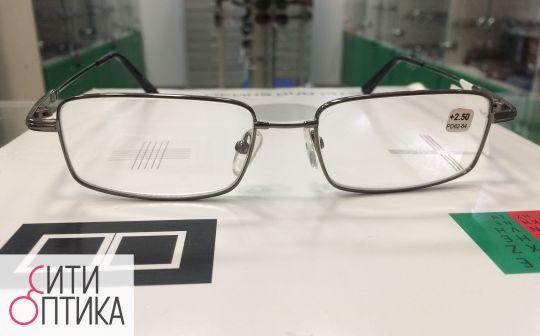 Тонированные  готовые очки . Titanflex Farfalla 8201