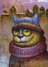 Почтовая открытка Portrait of a friend.