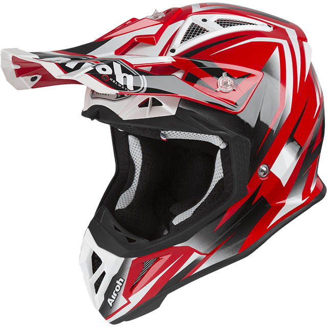 Airoh - Aviator 2.3 Fame Red шлем, красный