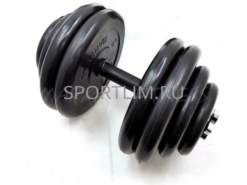 Гантель MB Barbell Atlet d.25мм 57.5 кг