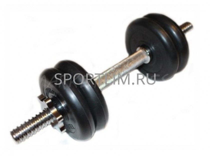 Гантель MB Barbell Atlet d.25мм 7.5 кг (хромированный гриф)