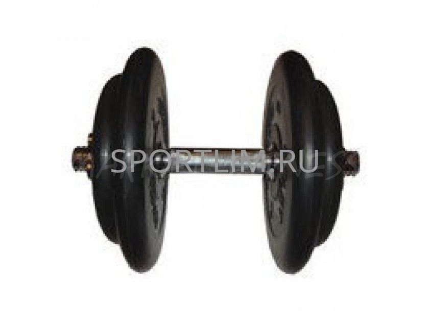 Гантель MB Barbell Atlet d.31мм 17.5 кг