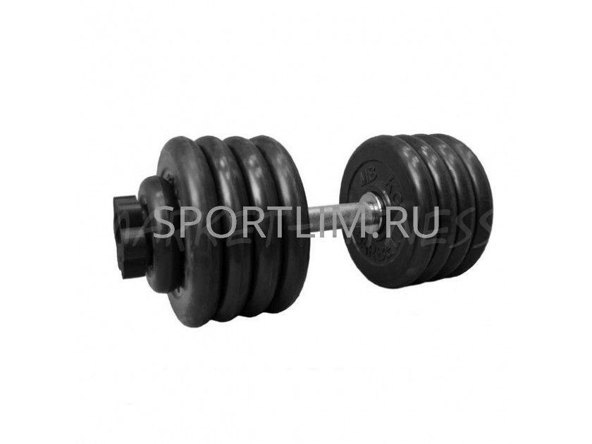 Гантель MB Barbell Atlet d.51мм 49 кг