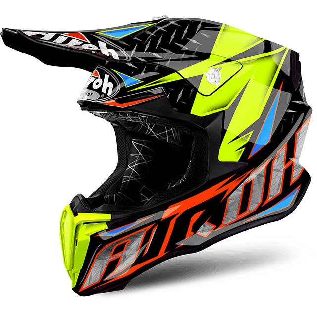 Airoh - Twist Iron Orange шлем, оранжевый