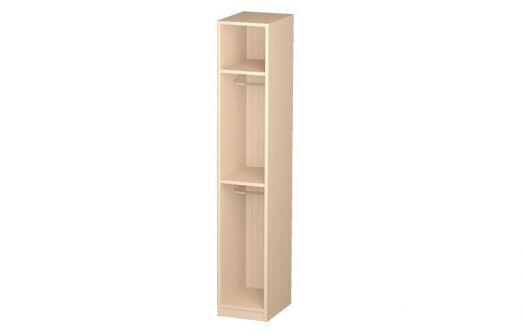 Шкаф-пенал 06.25-02 (каркас) модульная спальня Розалия