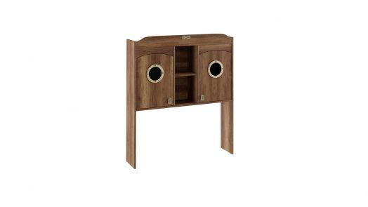 Шкаф настольный с иллюминатором (ШxГxВ): 1210x279x1402