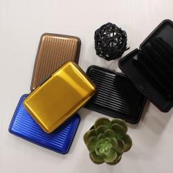 Кейс-визитница для кредитных карт (цвета в ассортименте)