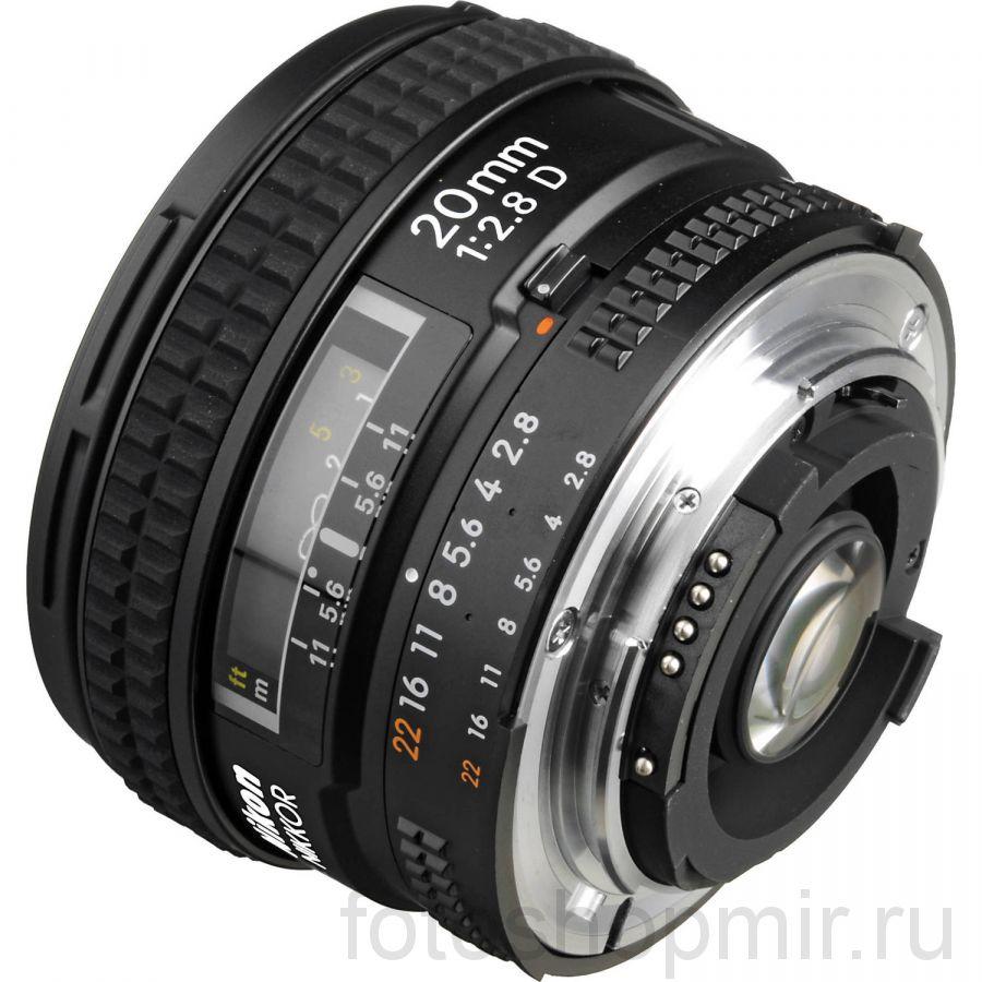 Nikon 20mm f/2.8D AF Nikkor