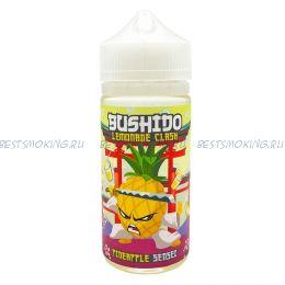 """Е-жидкость Bushido Lemonade clash """"Pineapple Sensei"""", 100 мл."""