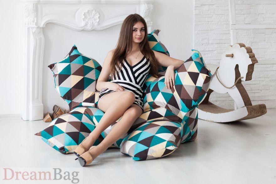 Кресло Цветок  Дрим Бег