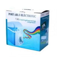 Автомобильный холодильник/нагреватель Portable Electronic Cooling and Warming Refrigerator 7.5L рис 7