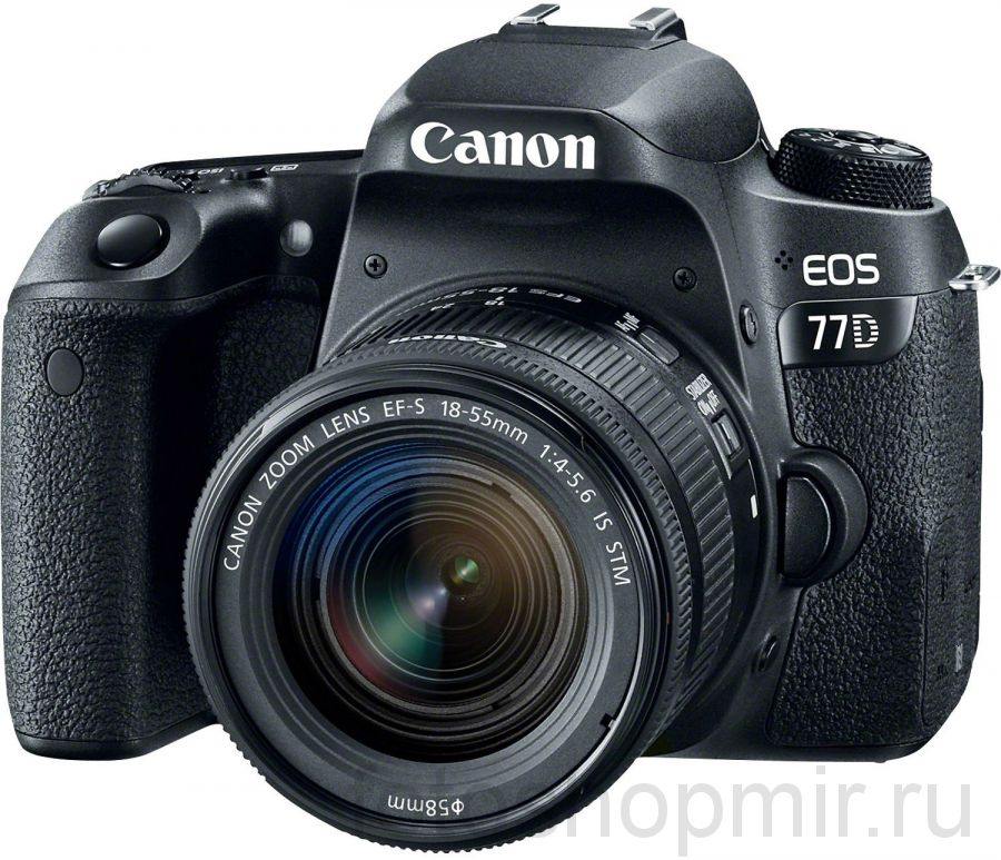 Canon EOS 77D Kit 18-55 IS STM