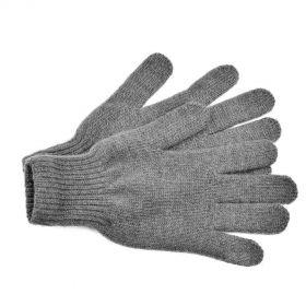 Перчатки взрослые из монгольской шерсти [Серые]