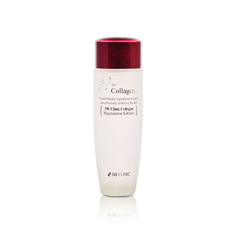 [3W CLINIC] ЛИФТИНГ Скин-тоник д/лица с коллагеном регенер. Collagen Regeneration Softener, 150 мл
