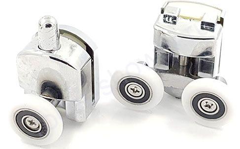 Ролик для душевой кабины VH030 (комплект 8шт) Диаметр колеса (от 18,6 до 28мм)