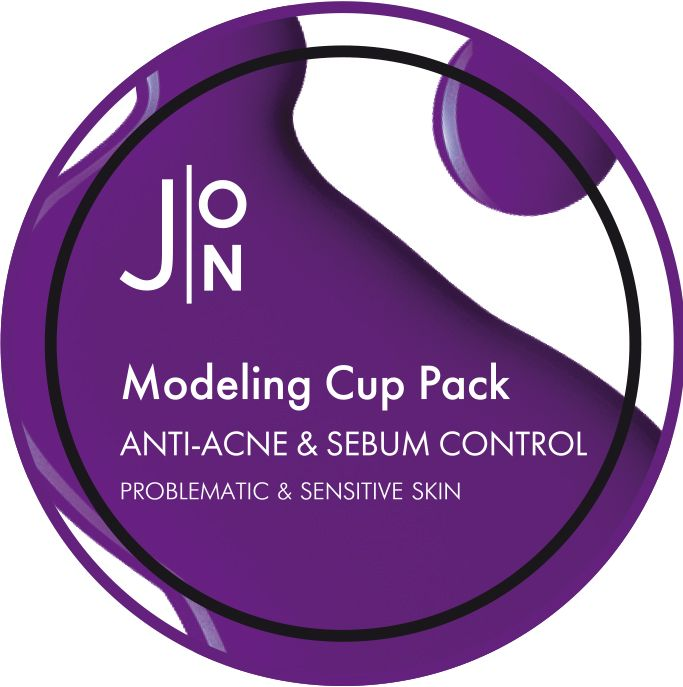 [J:ON] Альгинатная маска АНТИ-АКНЕ И СЕБУМ КОНТРОЛЬ ANTI-ACNE & SEBUM CONTROL MODELING PACK 18 гр
