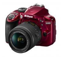 Nikon D3400 Kit red