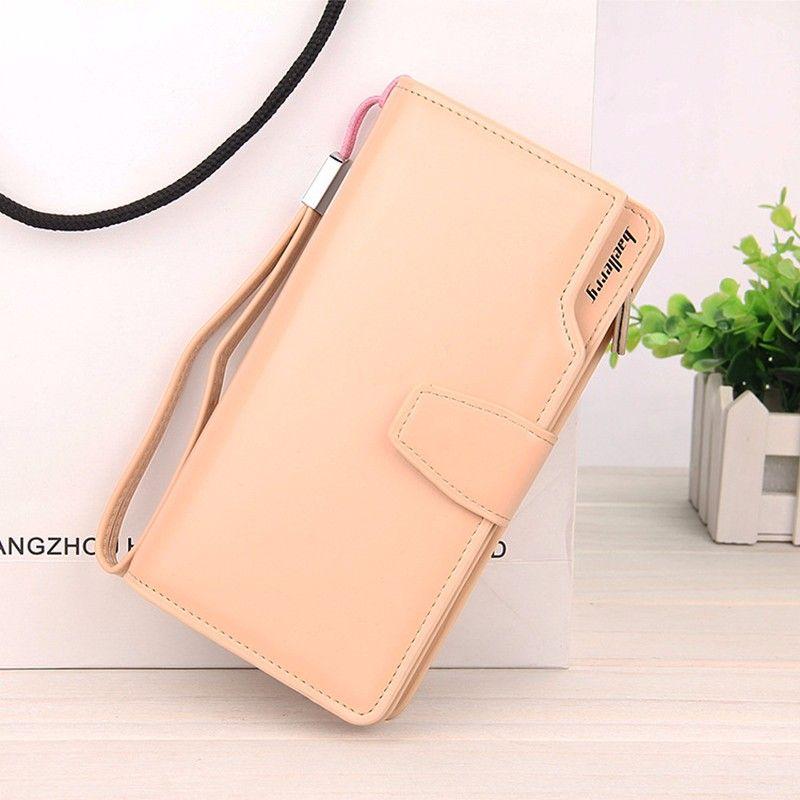 Кошелёк Woman Baellerry Wallet Pu Clutch Bag, Цвет Бежевый