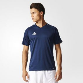 Футболка adidas Tiro 17 Training Jersey тёмно-синяя