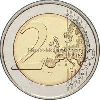 Эстония 2 евро 2018, 100-летие независимости прибалтийских государств