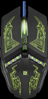 Проводная игровая мышь Halo Z GM-430L оптика,7кнопок,3200dpi