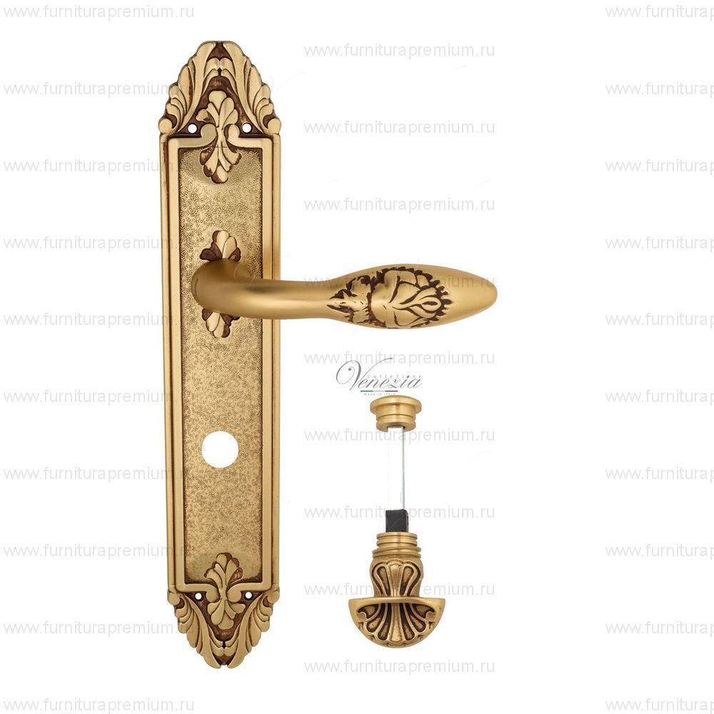 Ручка на планке Venezia Casanova PL90 WC-4