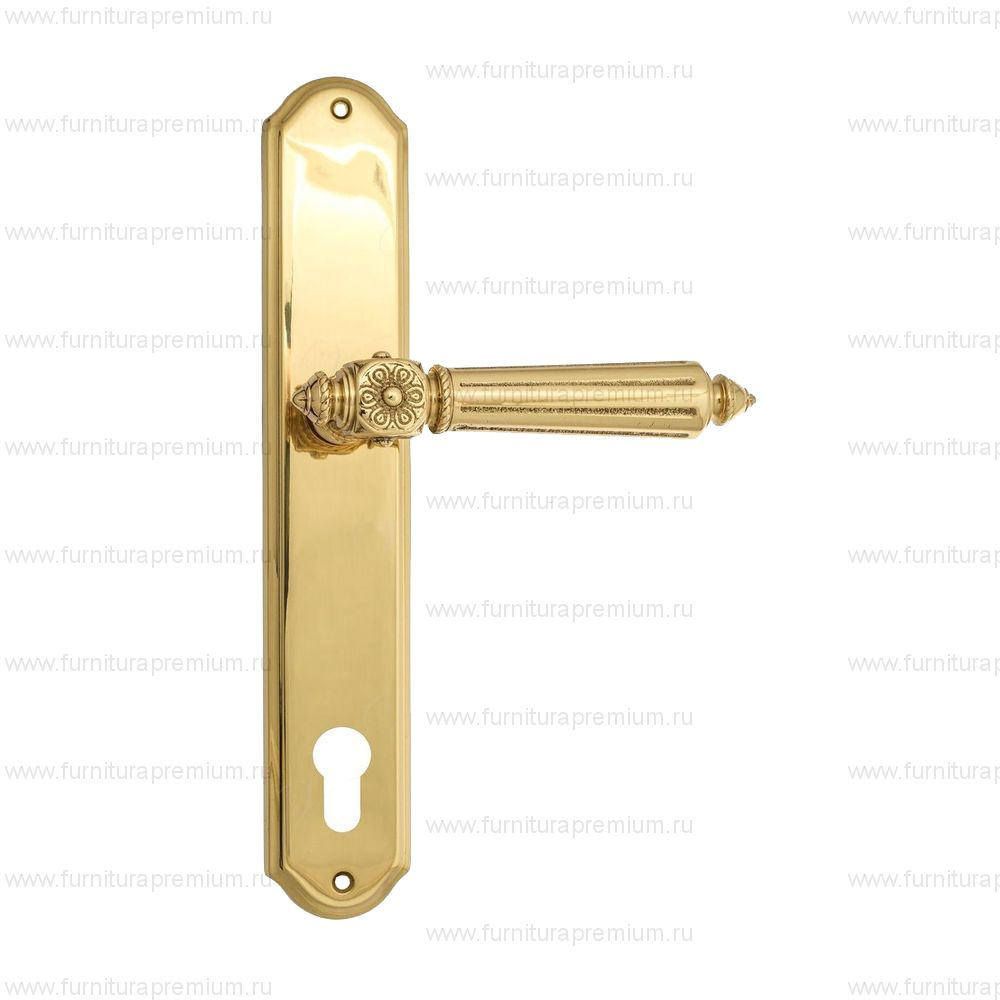 Ручка на планке Venezia Castello PL02 CYL