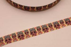 `Лента репсовая с рисунком, ширина 22 мм, Р-ЛР5669