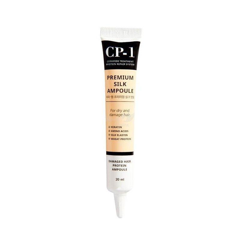 Несмываемая сыворотка для волос с протеинами шелка CP-1 Premium Silk Ampoule ESTHETIC HOUSE , 20 мл