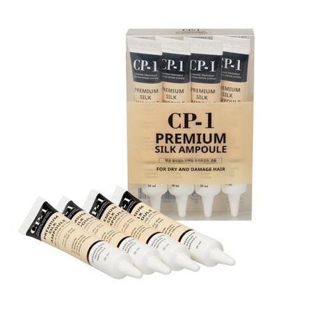 [ESTHETIC HOUSE] Набор/Несмываемая сыворотка д/волос с протеинами шелка CP-1 Premium Silk Ampoule