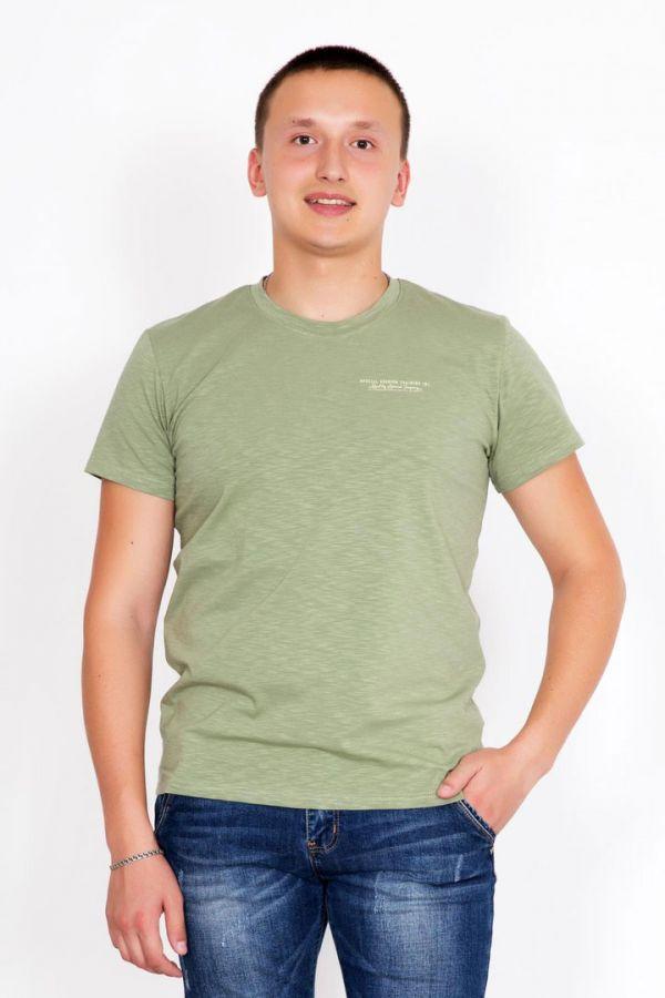 "Мужская футболка ""Томас"" оливковая"