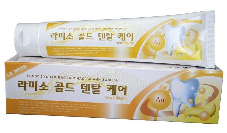 Зубная паста La miso 150 гр  в ассортименте