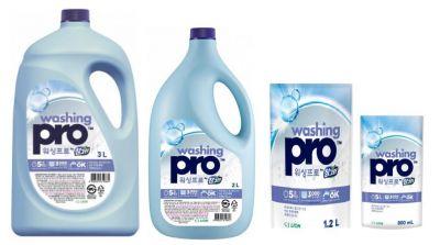 Биоразлагаемое средство для мытья посуды CJ Lion Washing Pro